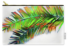 Carry-all Pouch featuring the digital art Palm Leaf by Pennie McCracken