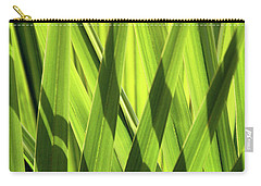 Carry-all Pouch featuring the photograph Palm Portrait IIi by Leda Robertson