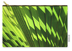 Carry-all Pouch featuring the photograph Palm Portrait Iv by Leda Robertson