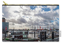 Panoramic View Of Hamburg Carry-all Pouch