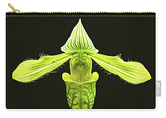 Paphiopedilum Venustum Closeup Carry-all Pouch