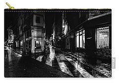 Paris At Night - Rue De Seine Carry-all Pouch