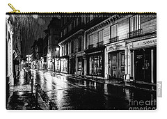 Paris At Night - Rue Saints Peres Carry-all Pouch