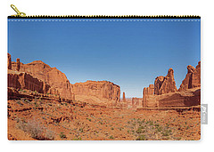 Carry-all Pouch featuring the photograph Park Avenue Stroll by Andy Crawford