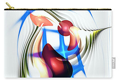 Carry-all Pouch featuring the digital art Parkour by Anastasiya Malakhova