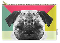 Pug Digital Art Carry-All Pouches