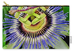 Passion Flower Bee Delight Carry-all Pouch