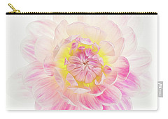 Carry-all Pouch featuring the photograph Pastel Dreams by Mary Jo Allen