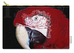 Patchwork Parrot Carry-all Pouch