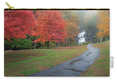 Carry-all Pouch featuring the photograph Path To The Falls by Bill Wakeley