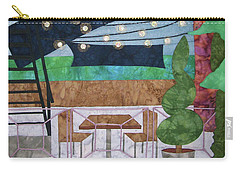 Patio At The Winds Carry-all Pouch