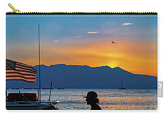 Patriot On The Lake Carry-all Pouch