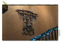 Carry-all Pouch featuring the photograph Patzcuaro Wall Hanging by Rosanne Licciardi