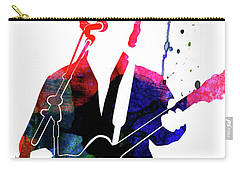 Paul Simon Watercolor Carry-all Pouch