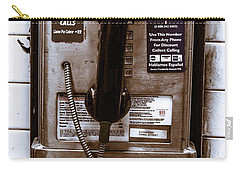 Payphone Carry-all Pouch
