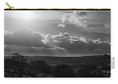 Peak District From Black Rocks In Monochrome Carry-all Pouch