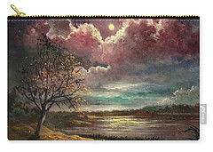 Pearl Of The Night Carry-all Pouch