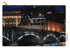 Pearl Street Bridge Grand Rapids  Carry-all Pouch