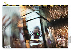 Carry-all Pouch featuring the photograph Peering Through by Alex Lapidus