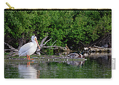 Pelican And Friends Carry-all Pouch