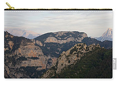 Carry-all Pouch featuring the photograph Pena Montanesa  by Stephen Taylor