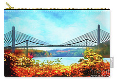 Penobscot Narrows Bridge In Autumn Carry-all Pouch