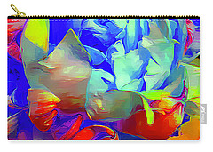 Peony Pop Carry-all Pouch