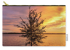 Percy Priest Lake Sunset Young Tree Carry-all Pouch