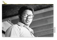 Perturbed High School Student, With Substantial Eyeglasses, 1972 Carry-all Pouch