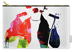 Peter Watercolor Carry-all Pouch