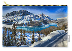 Peyto Lake T-shirt Carry-all Pouch