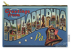 Philadelphia Greetings Carry-all Pouch
