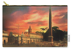 Piazza Del Popolo Rome Carry-all Pouch