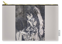 Carry-all Pouch featuring the drawing Picasso Study by Rosanne Licciardi