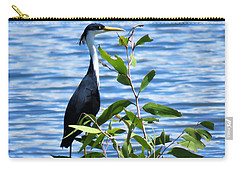 Pied Heron Tree Carry-all Pouch