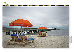 Carry-all Pouch featuring the photograph Pier by Jim Mathis