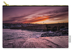 Pier To Pier Sunset Carry-all Pouch