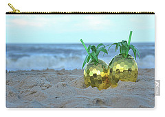 Carry-all Pouch featuring the photograph Pineapple Drinks by Jamart Photography