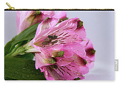 Pink Alstroemeria-4 Carry-all Pouch
