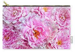 Pink Flowers Everywhere Carry-all Pouch