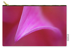 Carry-all Pouch featuring the photograph Pink Petals by Mary Jo Allen