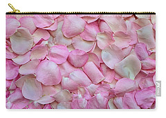 Pink Rose Petals Carry-all Pouch