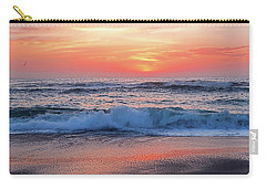 Pink Sunrise Panorama Carry-all Pouch