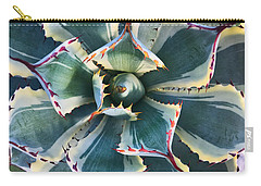 Pinwheel Succulent Carry-all Pouch