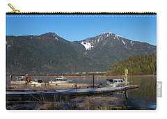 Pitt Lake Winterimpression Carry-all Pouch