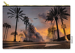 Carry-all Pouch featuring the photograph Playa Vista by John Rodrigues