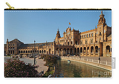 Plaza De Espana Bridge View Carry-all Pouch