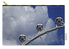Carry-all Pouch featuring the photograph Pod Cluster 2 by Skip Hunt