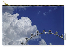 Carry-all Pouch featuring the photograph Pod Cluster 3 by Skip Hunt