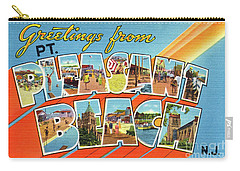 Point Pleasant Beach Greetings Carry-all Pouch